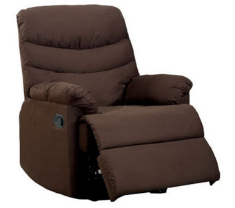 Microfiber 3-Position Recliner - H357596
