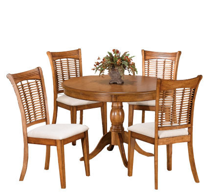 Hillsdale House Bayberry 5-piece Round Dining Set