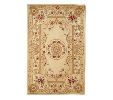 Royal Palace Emperor S Rose 8 6 Quot X 11 6 Quot Handmade Wool Rug