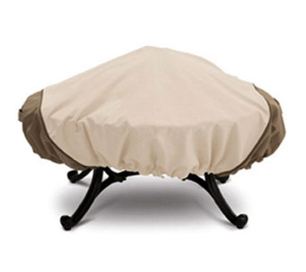 Veranda Fire Pit Cover Large Round by Classic Accessories - H171497