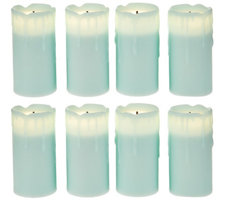 Candle Impressions Set of 8 Flameless Votive Candles