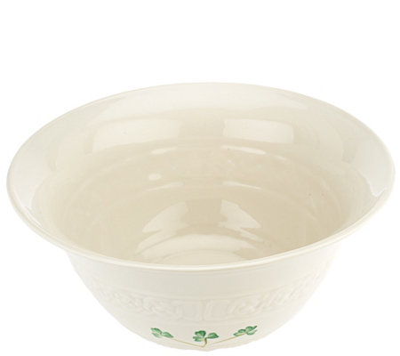 "Belleek Tara Collection 10"" Centerpiece Bowl"