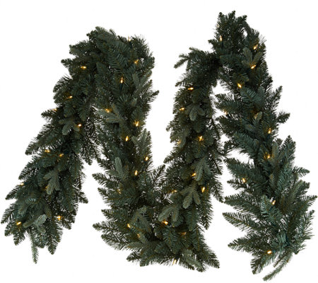 Bethlehem Lights Blue Spruce 9' Lit Garland