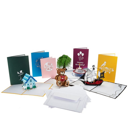 Lovepop S/10 Handcrafted 3D Pop-Up Greeting Cards