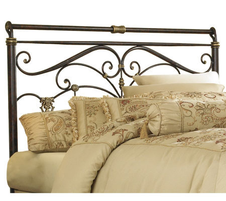 Fashion Bed Group Lucinda Marbled Russet Full Headboard