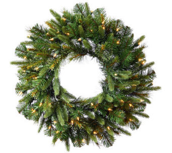 "36"" Cashmere Pine Wreath with Dura-Lit Lights by Vickerman - H281897"