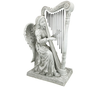 Design Toscano Music from Heaven Angel Wind Chime Statue - H282697