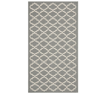 "Safavieh Lattice 4' x 5'7"" Indoor/Outdoor Rug - H283097"