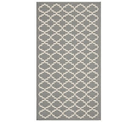 "Safavieh Lattice 4' x 5'7"" Indoor/Outdoor Rug"