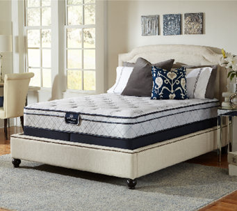 Serta Perfect Sleeper Glitz Euro Top Split Quee n Mattress Set - H286697