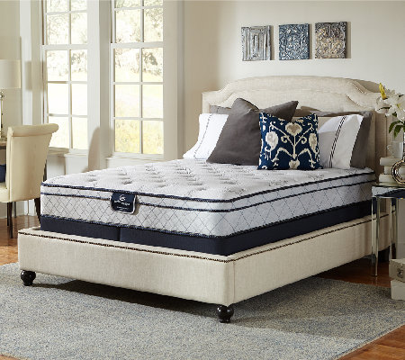 Serta Perfect Sleeper Glitz Euro Top Split Queen Mattress Set