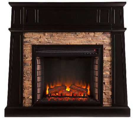 carter electric media fireplace