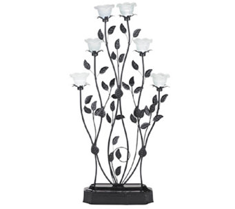 Exhart Indoor/Outdoor LED Blossom Candelabra - H287497