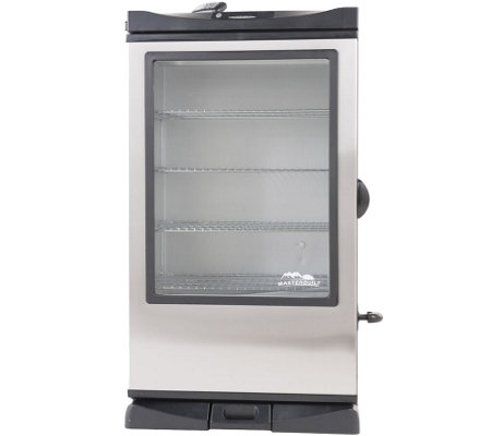 "Masterbuilt 40"" Electric Smokehouse Window andRF Remote"