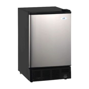 SPT Undercounter Ice Maker - Stainless Steel Door
