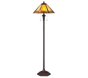 "Tiffany Style Arden Collection 59-1/2"" Floor Lamp - H359097"