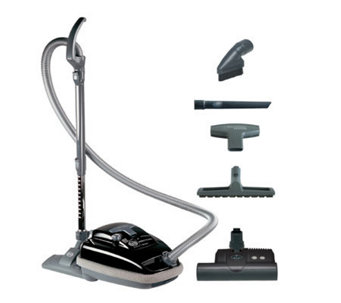 Sebo Airbelt K3 Vacuum Cleaner with ET-1 PowerHead - Black - H359397