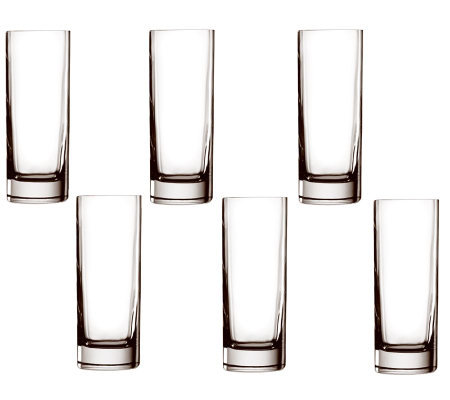 Luigi Bormioli 12.25-oz Top Class Beverage Glasses - Set of 6