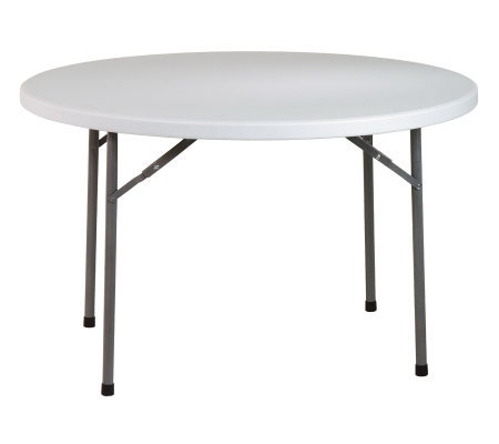 "Office Star Light Gray 48"" Round Banquet Table"