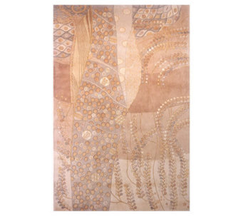 "Momeni New Wave Ferns 9'6"" x 13'6"" Handmade Wool Rug - H161698"