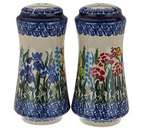 Lidia's Polish Pottery Stoneware Salt & Pepper - H208598