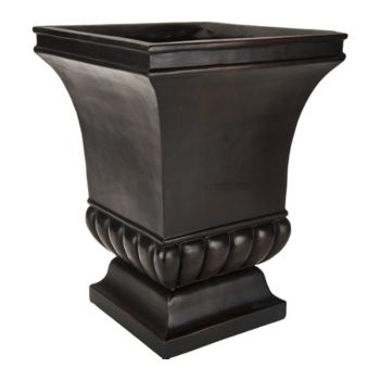 Bethlehem Lights Footed Urn with Square Well
