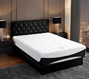 "Signature Sleep 12"" Aura Luxury Gel Memory FoamQueen Mattress - H288798"