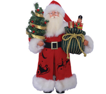 "15"" Up, Up, and Away Santa by Santa's Workshop - H288998"