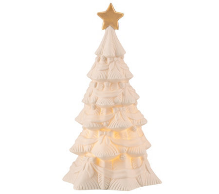 Lenox All Is Bright Tree Figurine