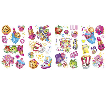 RoomMates Shopkins Peel & Stick Wall Decals