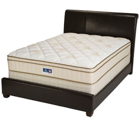 Serta Remedy Euro Top Twin Mattress Set