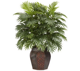 Areca Palm with Vase Plant by Nearly Natural - H357398