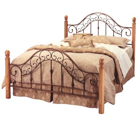 Hillsdale House San Marcos Queen Bed with Rails