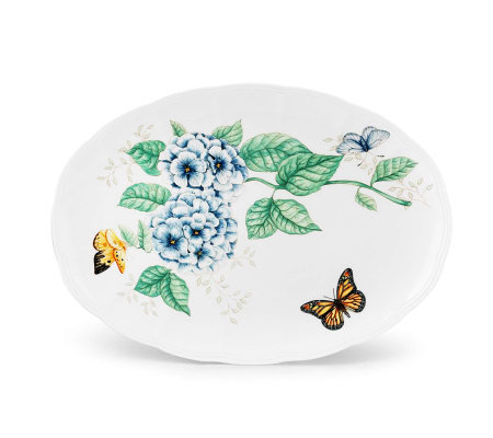 Lenox Butterfly Meadow Oval Platter