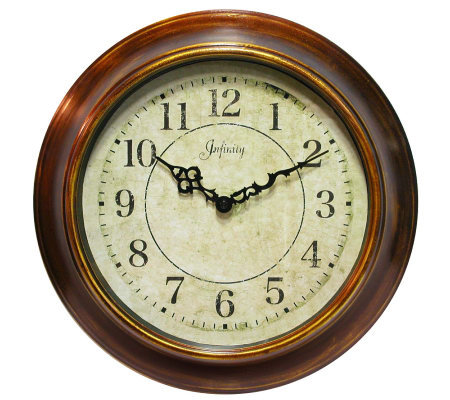 The Keeler Metal Wall Clock by Infinity