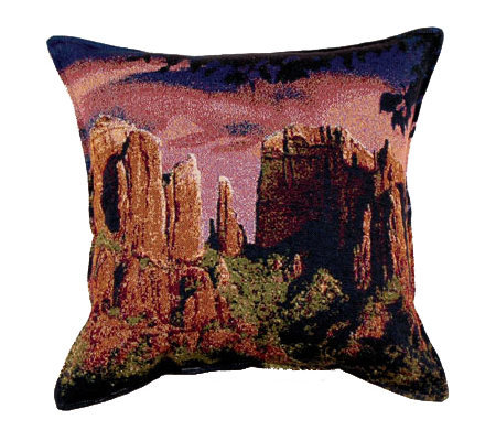 Sedona Sunset Pillow by Simply Home