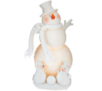 "Kringle Express Illuminated Porcelain 9"" Christmas Character - H206399"