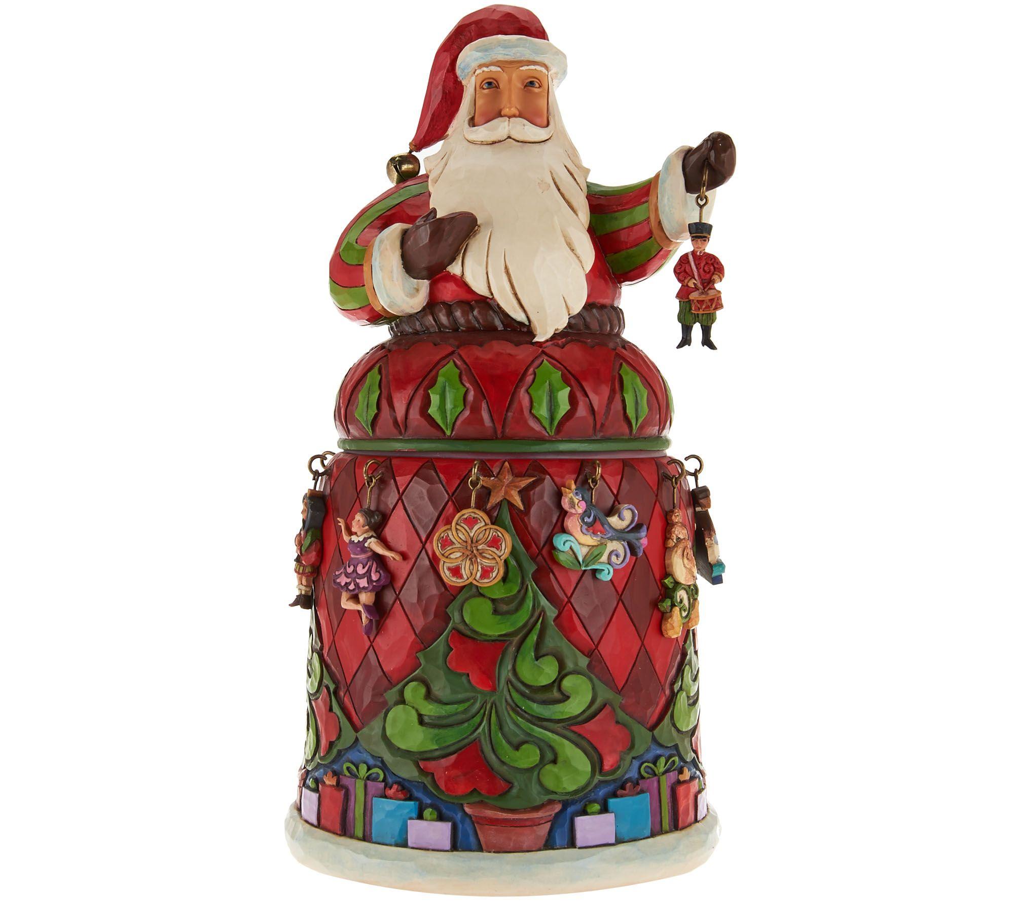 Jim Shore Hanging 12 Days of Christmas Santa Figurine - Page 1 ...