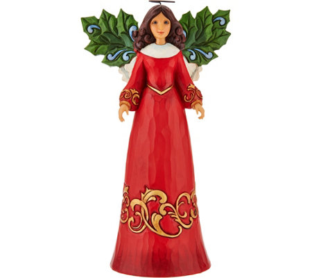 Jim Shore Heartwood Creek Holly Angel Figurine