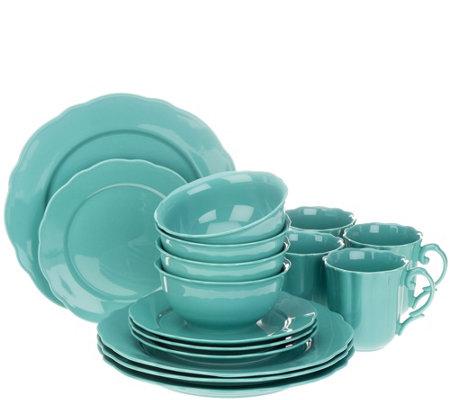 Lenox Everyday Solids 16-piece Porcelain Dinnerware Set  sc 1 st  QVC.com & Lenox Everyday Solids 16-piece Porcelain Dinnerware Set - Page 1 ...