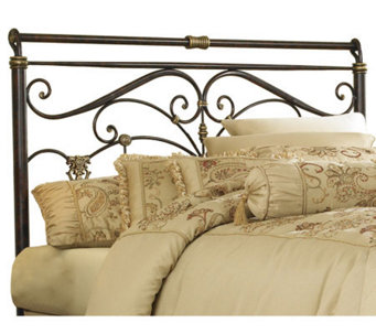 Fashion Bed Group Lucinda Marbled Russet QueenHeadboard - H281099
