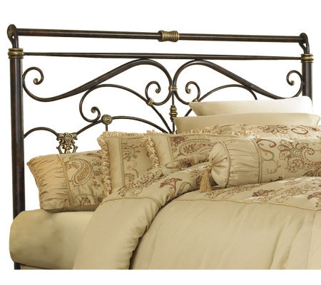 Fashion Bed Group Lucinda Marbled Russet QueenHeadboard