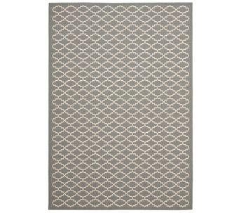 "Safavieh Lattice 5'3"" x 7'7"" Indoor/Outdoor Rug - H283099"