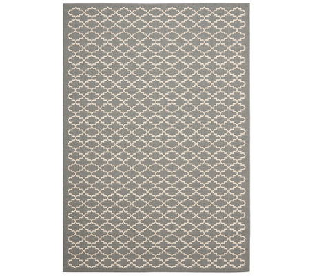 "Safavieh Lattice 5'3"" x 7'7"" Indoor/Outdoor Rug"