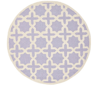 Moroccan Cambridge 8' Round Rug by Safavieh - H283599