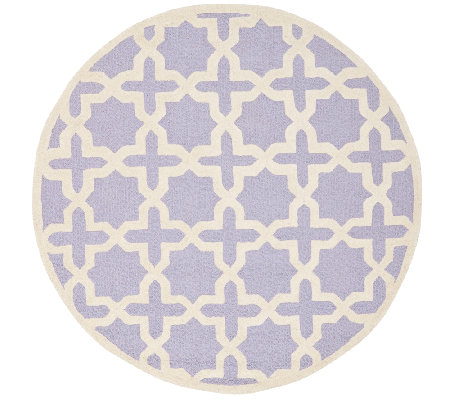 Moroccan Cambridge 8' Round Rug by Safavieh