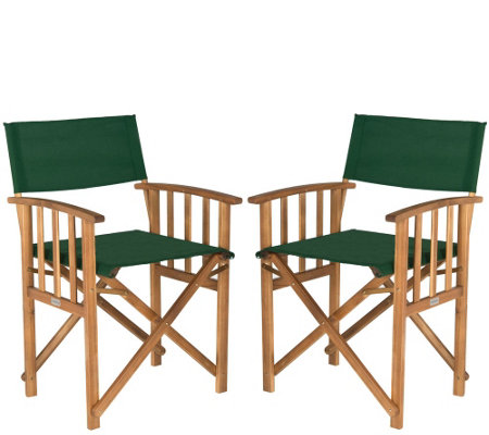 Safavieh Set of 2 Laguna Director Chairs