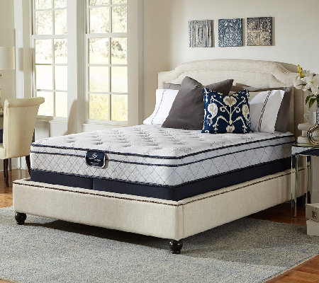 Serta Perfect Sleeper Glitz Euro Top King Mattr ess Set