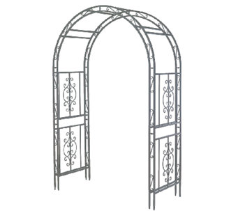 Plow & Hearth Finished Iron Montebello Garden Arbor - H286999