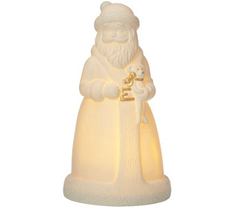 Lenox All Is Bright Santa Figurine - H289299